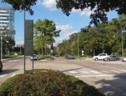 Eldridge-Enclave-Parkway-intersection-seen-from-Esplanade-on-South-looking-North-KBR-Tower-on-the-left